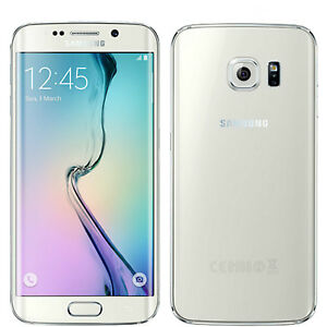 New Samsung Galaxy S6 Edge 32GB SM-G925F White Pearl Factory Unlocked 4G Simfree