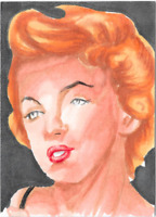 Breygent Marilyn Monroe Sketch Card by Chris Henderson