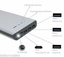 Power Bank 20,000 Quick Charge External Battery High Capacity Charger Universal