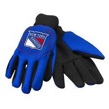 NHL Eishockey Handschuhe/Gloves NEW YORK RANGERS NY Foil-Print neu & OVP