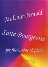 ARNOLD SUITE BOURGEOISE FLUTE OBOE & PIANO