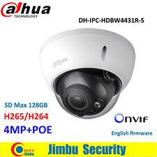 Dahua IPC-HDBW4431R-S 4MP Dome CCTV IP camera H265 POE IR30m IP67 Micro SD memor