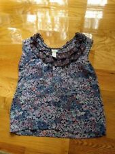 Anthropologie  Odille silk top  size 2  ,  XS