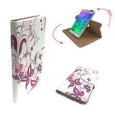 MEDION LIFE X6001 - Handy Schutz Etui Tasche - 360° XL Schmetterling 3