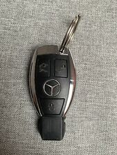New For MERCEDES BENZ Original 3 BUTTON SMART KEY FOB REMOTE CHROME CASE