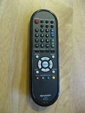 SHARP GA603WJSA LCD TV REMOTE CONTROL ORIGINAL (BROKEN BATTERY COVER)