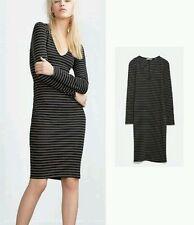 Zara Trafaluc Bodycon Dress UK Small