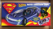 Superman Matrix Conversion Coupe w/ Clark Kent figure Man of Steel Kenner DC new