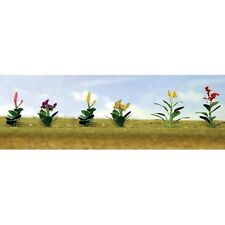 "JTT Scenery Assorted Flower Plants 4, 1-1/2"" High, O-Scale 10/pk 95564"