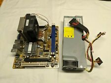 Asus M2N61-AR, Socket AM2, AMD Motherboard+Processor+Cooler+Power Supply