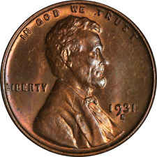 1931-S Lincoln Cent Choice BU+ Key Date Great Eye Appeal Strong Strike