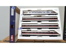 "LIMA ""véro"" # 149742 GP Coffret 4 éléments  IC Intercity  DB BO"
