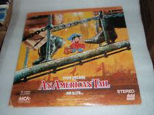 An American Tail Laserdisc LD