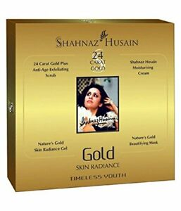 Shahnaz Husain 24 Carat Gold Facial Kit Original (free shipping world)