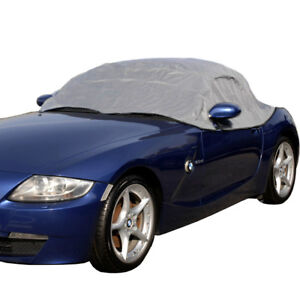 RP094G Convertible Soft Top Roof Protector Half Cover for BMW Z4 - 2002 to 2016