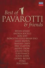 BEST OF PAVAROTTI & FRIENDS THE DUETS DVD NEW+