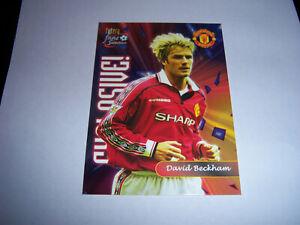 Football Card 'David Beckham' Manchester Utd 'Explosive'