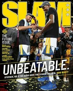 POSTER - KEVIN DURANT STEPH CURRY SLAM Magazine Photo POSTER (36 by 24 inch) 1