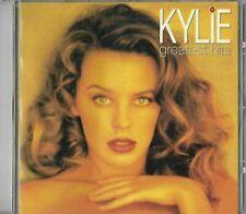 KYLIE MINOGUE GREATEST HITS CD ALBUM AUSTRALIAN
