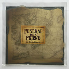 FUNERAL FOR A FRIEND - INTO OBLIVION rare shaped 7 INCH VINYL RECORD BRAND NEW