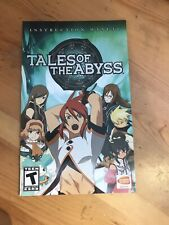 Tales of the Abyss (Sony PlayStation 2) JUST MANUAL