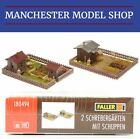 Faller 180494 HO 1:87 2x Allotments with sheds Era III kit NEW & BOXED