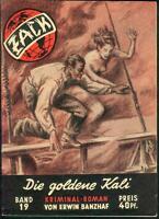 ZACK Kriminal- und Abenteuer Stories Nr.19 von 1950 - TOP Z1 ORIGINAL ROMANHEFT