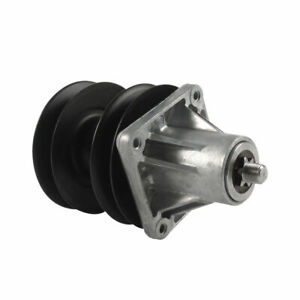 MTD 918-0593A Replacement Part Double Pulley Spindle Assembly