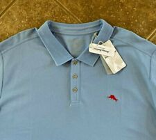# T20856 $89.50 Lagoon Water Tommy Bahama The Emfielder Polo