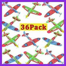 36 Pack Airplane Toys Glider Planes Throwing Foam For Kids Flying Aircraft Easy
