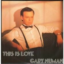 "Gary Numan 45RPM Speed New Wave 12"" Singles"