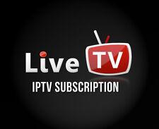 IPTV ABONNEMENT 3 MOIS MAG 254/250 Amazon Fire TV Smart TV Live TV m3u VLC