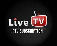 IPTV subscription 3 months MAG 254 / 250 Amazon Fire TV Smart Tv Live tv m3u vlc