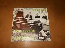 ERIC BURDON AND THE ANIMALS - SEE SEE RIDER - HELP ME   - ONLY COVER NO RECORD