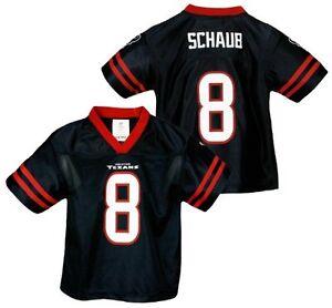 NFL Football Boys Houston Texans Matt Schaub #8 Dazzle Jersey