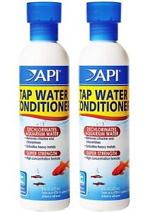 TAP Water Conditioner Freshwater & Saltwater Aquariums (2 Pack)