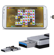 USB To OTG U Disk Extra Memory For Android Phone Converter Transfer Adapter Hot