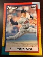 1990 Topps Traded Terry Leach Minnesota Twins 57T
