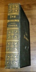 THE DEERSLAYER by J. FENIMORE COOPER  Vintage Hardback Book