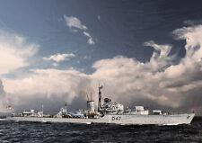 HMS GABBARD -  LIMITED EDITION ART (25)