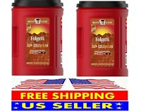 2-pack  Folgers 100% Colombian Coffee(43.8oz. x2 )  FREE SHIPPING