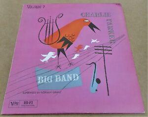 Charlie Parker Big Band Bird on Verve Volume 7 817 448 1 Vinyl LP Jazz French