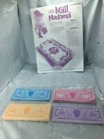 2004 Mall Madness Board Game Replacement Money & Instructions Cash Incomplete FS