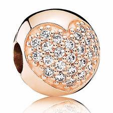 Pandora Rose Clip 781053cz Pavé-coeur