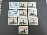 CANADA USED  STAMPS LOT