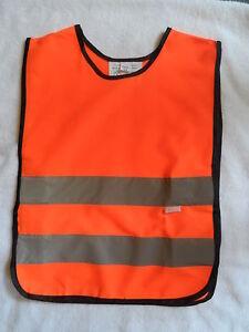 Childrens Hi Vis Orange Tabard