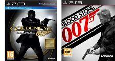 007 goldeneye reloaded & blood stone  ps3  pal region 2