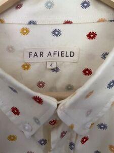 Mens Far Afield Mod Shirt xl(Oi Polloi,End,Hipstore)