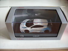 J Collection Nissan Leaf Nismo RC  Zero Emission in White on 1:43 in Box