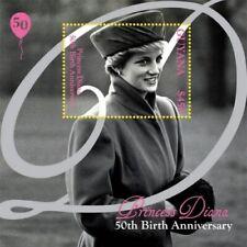 Guyana - 2012 - Princess Diana 50th Birthday - Souvenir Sheet - MNH